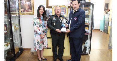 มอบถ้วยรางวัลชนะเลิศโบว์ลิ่งการกุศล สภท. 54 ปี เกมส์เดี่ยวสูงสุด ประเภทบุคคล VIP