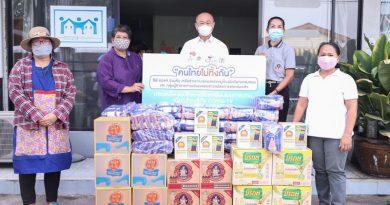 """เซเว่น อีเลฟเว่น เดินหน้าโครงการ """"คนไทยไม่ทิ้งกัน"""" สู้ภัยโควิด-19  ร่วมกับภาคประชาสังคม มอบชุดอุปโภค บริโภค ให้เครือข่ายหาบเร่แผงลอยฯ"""