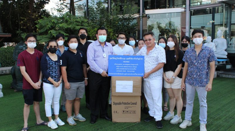 """""""น้ำใจคนไทย ยิ่งใหญ่เสมอ"""" ร่วมสนับสนุนมอบชุด PPE ป้องกันไวรัสโควิด"""